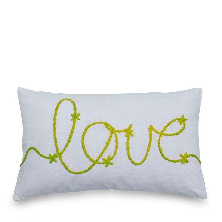 Lime Love Cushion 30x50cm | Me & My Trend