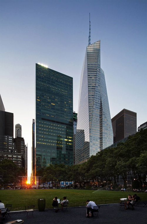 One Bryant Park-Bank of America Tower, New York City, Cook+Fox Architects