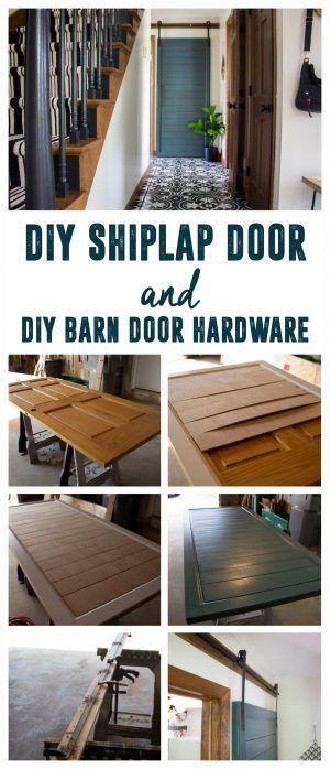 Building Barn Doors