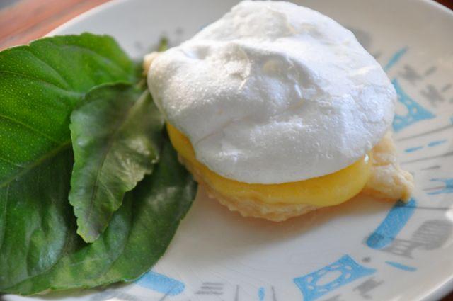 Lemon Meringue Pie Cookies Pie dough cookie + Ina Garten Lemon Curd ...