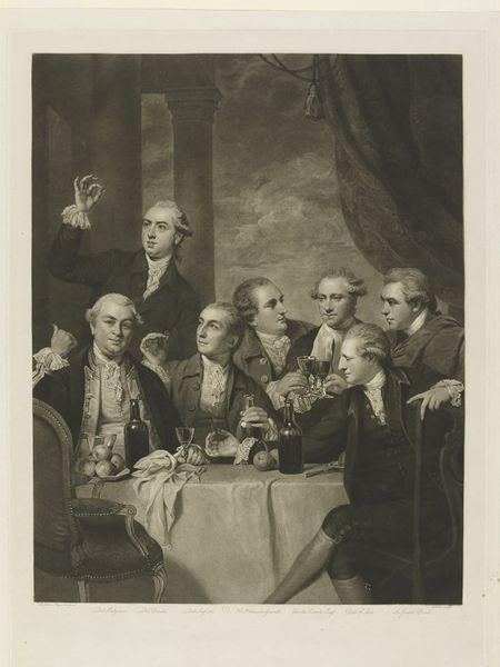 The Dilettanti Society, Charles Turner, early 19th century, Mezzotint on paper. l Victoria and Albert Museum