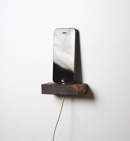 Walnut Iphone Or Ipad Mini 5 Wall Shelf Tis Puppy Even