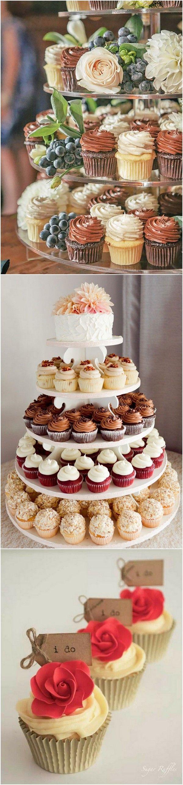 Creative wedding cupcakes