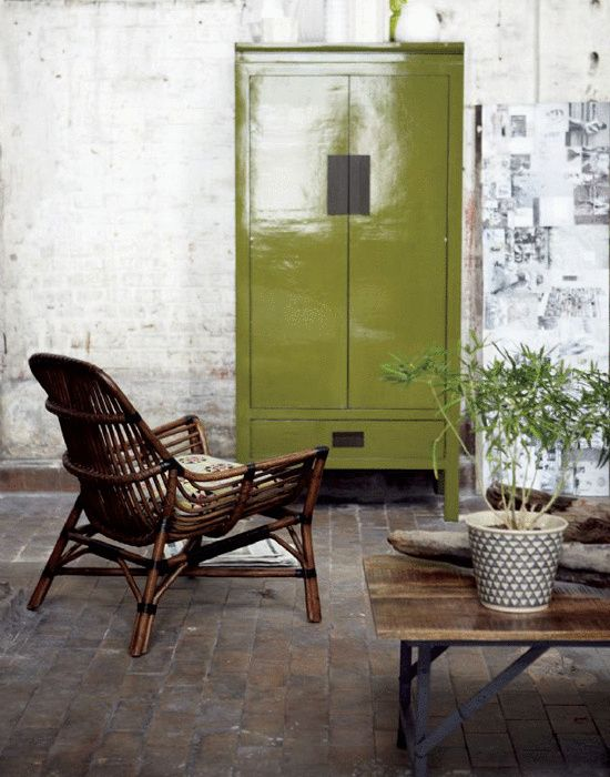 Lounge Armchair in rattan, Colony, from House Doctor. http://www.artilleriet.se/shop/
