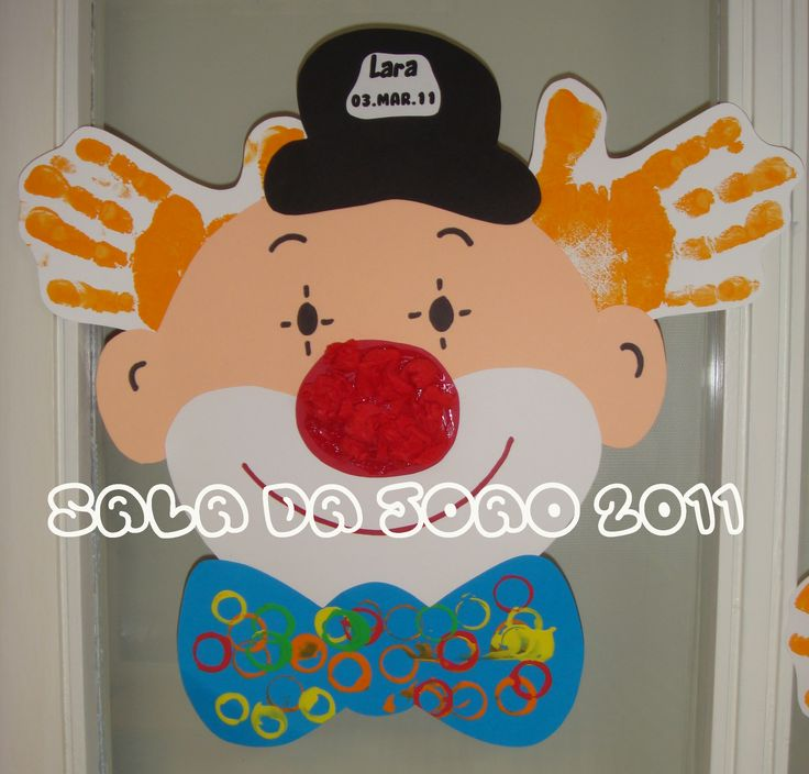 Carnaval / easy clown pattern