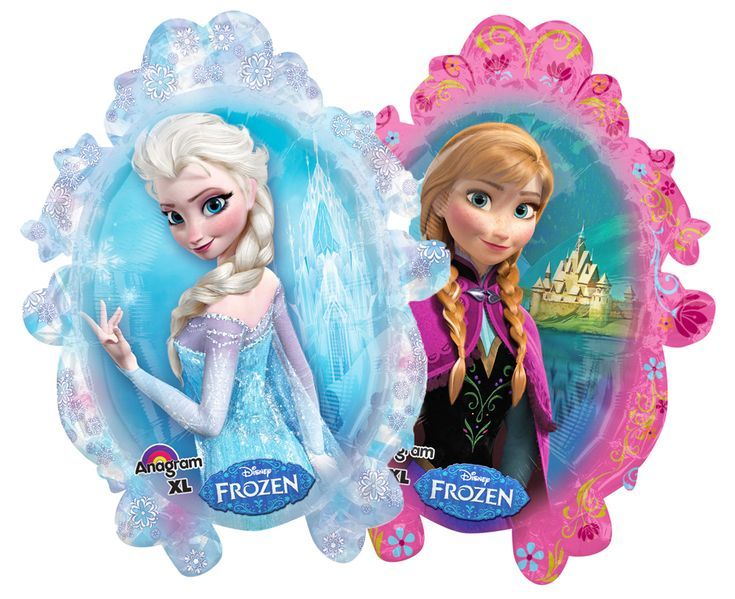 Folienballon Frozen 63 x 78 cm – Disney´s Die Eiskönigin Anna und Elsa – Partydekoration Gebu… – Birthday Design Blogs