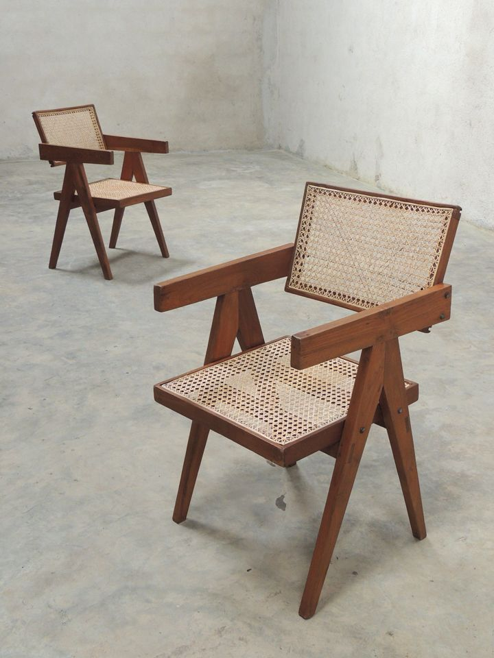 17 Best images about jeanneret chair – Pierre Chair