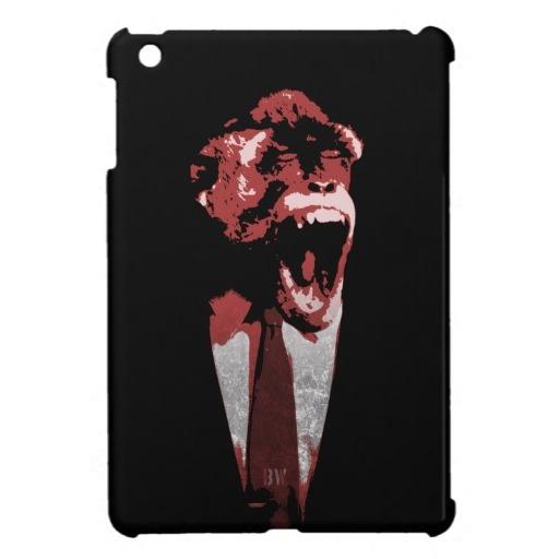 Monkey Suit iPad Mini Cover