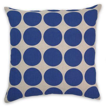 Aura 50x50cm Spot cushion Marine