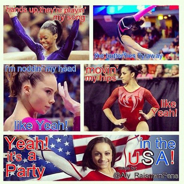 Twitter / Recent images by @jordyn_wieber. Love gymnastics!!!