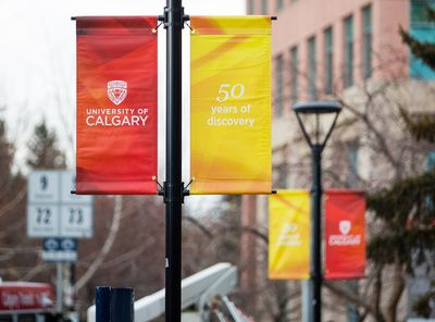 The University of Calgary's 50th Anniversary agenda includes a celebration with our campus family, employee recognition awards, the official launch of Energize: The Campaign for Eyes High fundraising program, the 2016 Lecture of a Lifetime, and our first-ever Alumni Weekend. Photo by Riley Brandt, University of Calgary