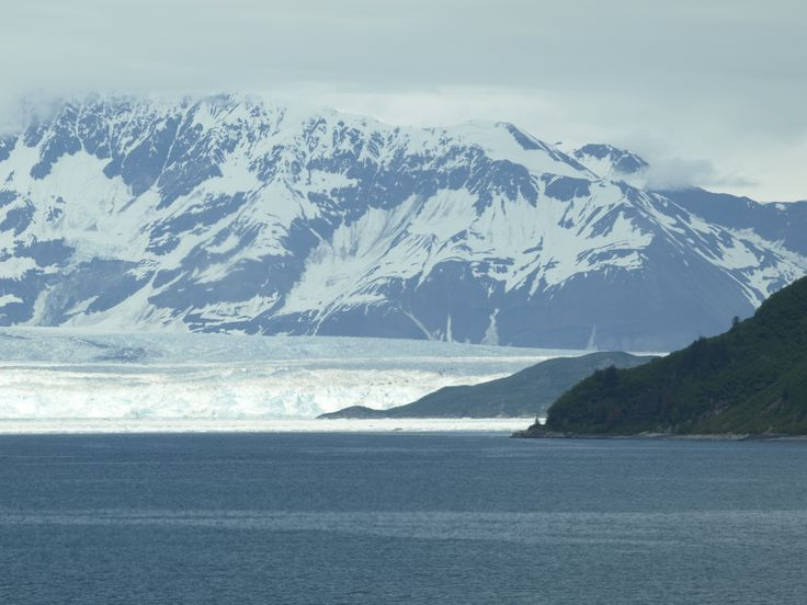 Hubbard Glacier is one of the largest in the world, and it is growing.  Kathy has a great narration about it on her website.