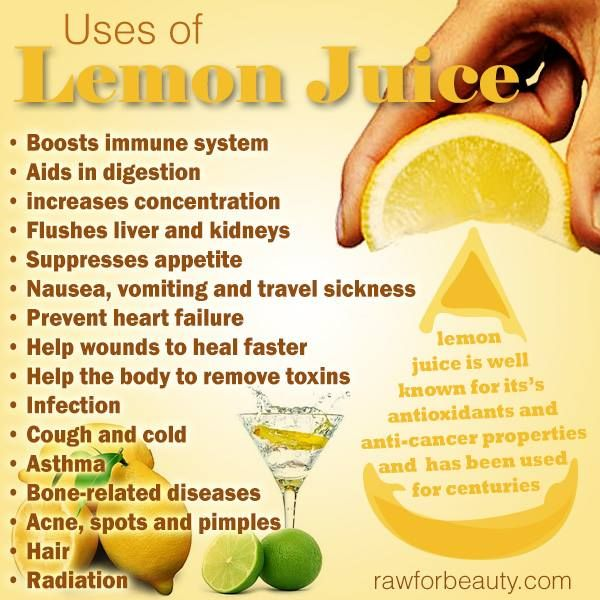 how to clean your face with lemon juice