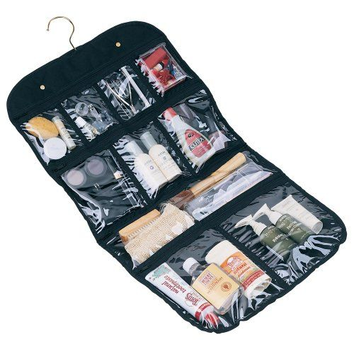 #Clear #Vinyl Zippered Cosmetic Bag Carry Case Travel #Makeup       Finally I can see all of my makeup essentials...       http://amzn.to/H9IsXU