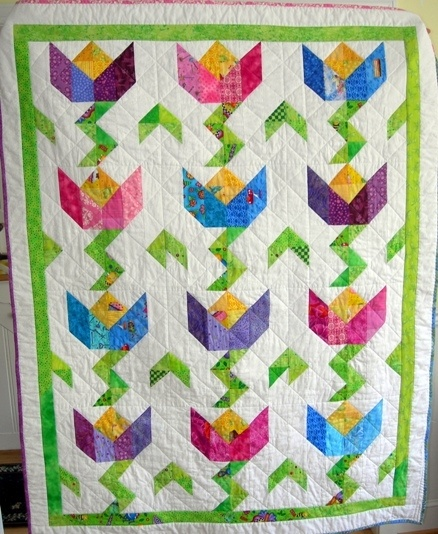 17+ images about Quilts - Tulip Quilts on Pinterest Machine quilting, Quilt kits and Appliques