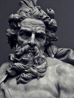 zeus face statue - Buscar con Google