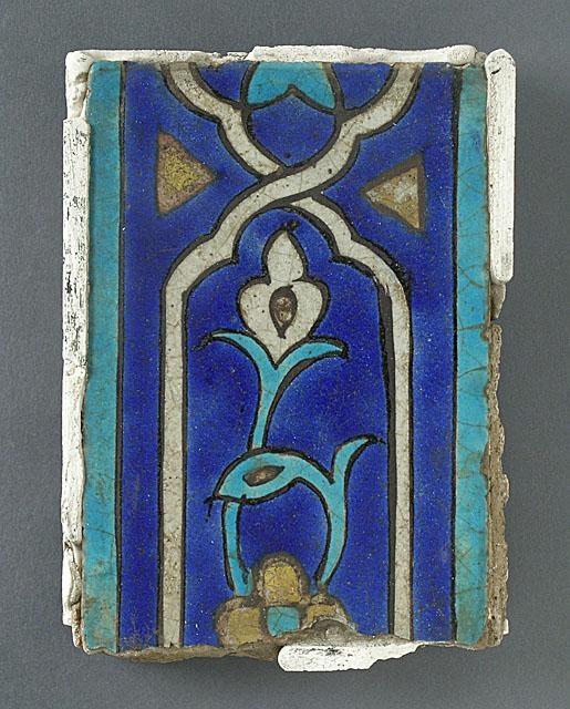 Tile | Iran 14th-15th century |