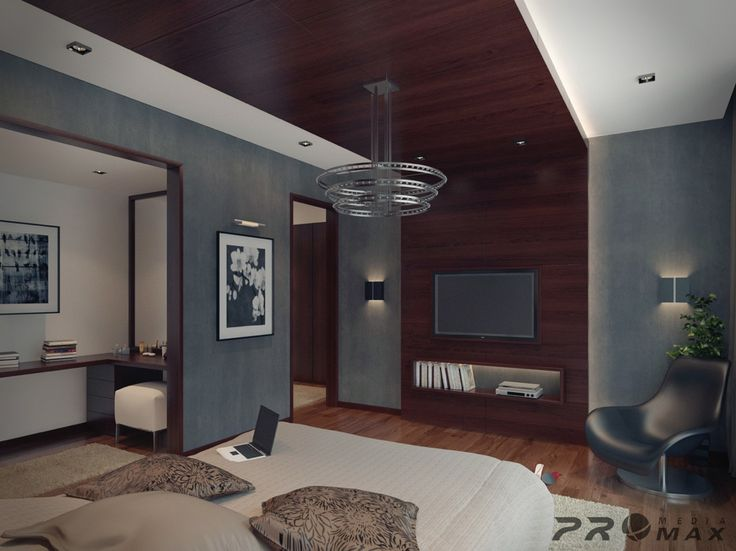 Apartements, : Fair Image Of Contemporary Apartment Decoration Using Solid  Cherry Wood Wall Panel Including Grey Bedroom Wall Paint And Rectangular  Furry ...