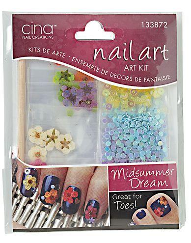 Nail Midsummer Dream Nail Art Decal Kit