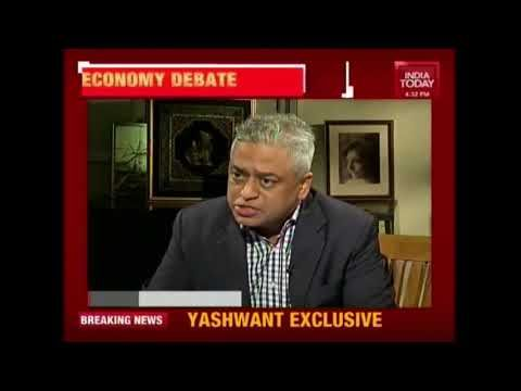 Big Economy Debate: Yashwant Sinha Issues Red Alert For Economy India Today