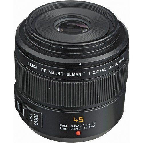 Panasonic+Leica+DG+Macro-Elmarit+45mm+f/2.8+ASPH.+MEGA+O.I.S.+weighs+7.94+oz+(225+g)+ata+price+of+$900