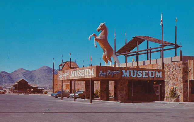 Roy Rogers Museum - Apple Valley, California. So sad this place is gone, it was really cool.
