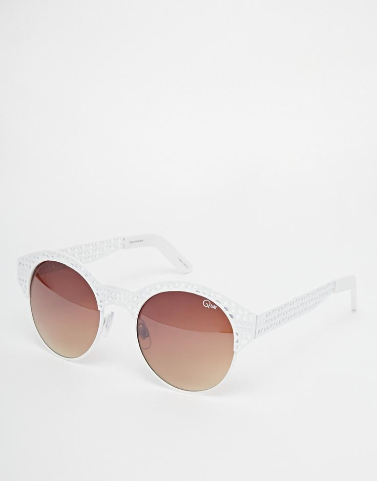 Quay+Round+Sunglasses