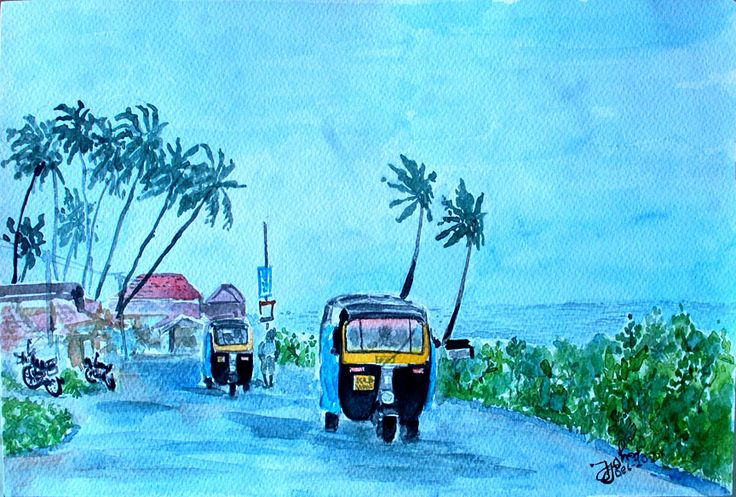Mansoon Day in Kerala