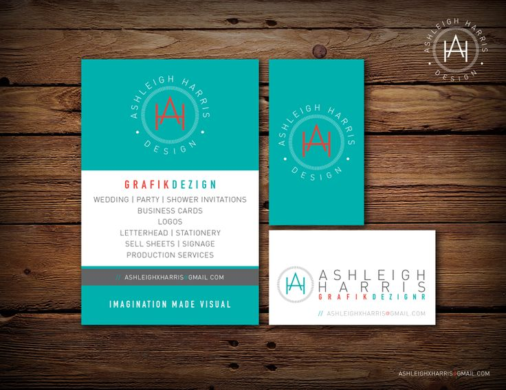 Custom business card & logo design. Please contact me at ashleighxharris[at]gmail[dot]com for any design work you may need! #wedding #weddinginvitations #custom #graphicdesign #logo