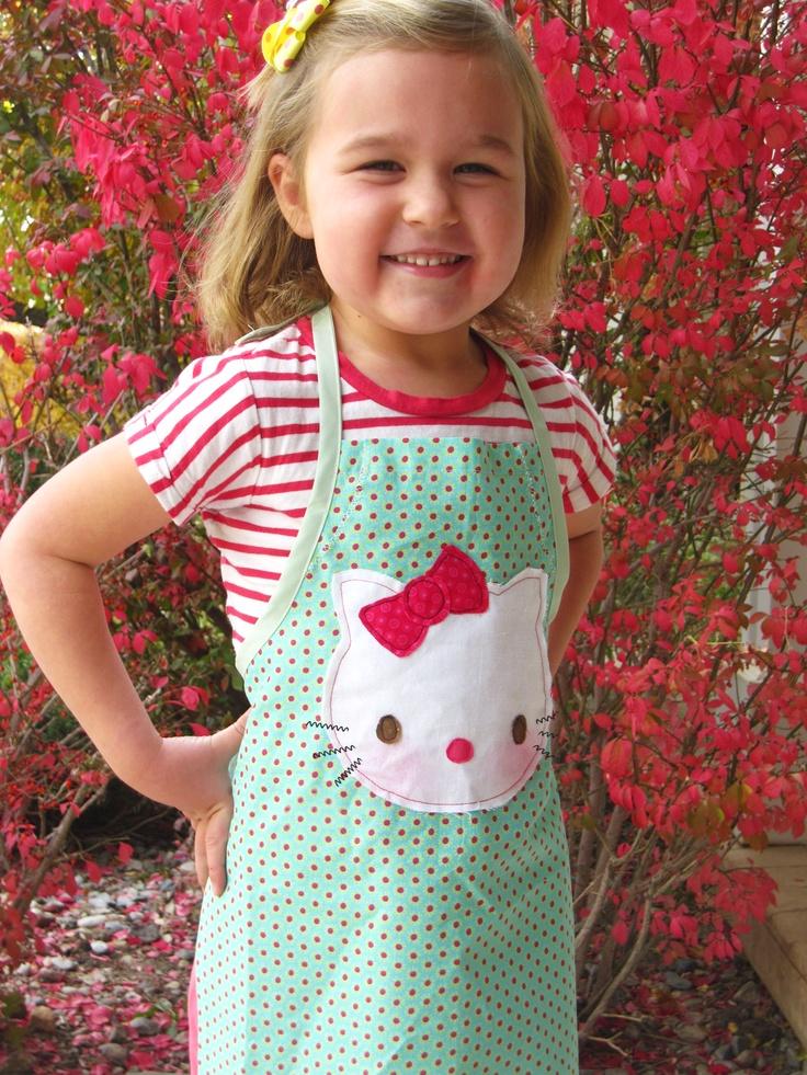 Pattern: Hello Kitty Apron