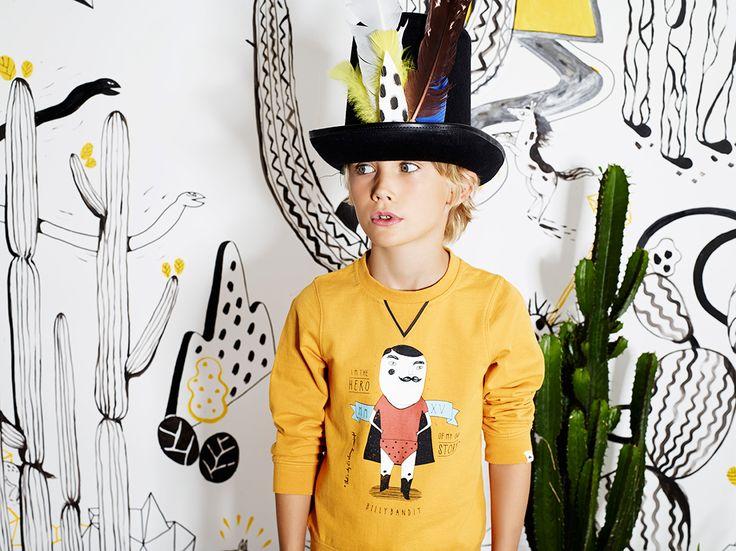 La conquête de l'Ouest de Billybandit | MilK - Le magazine de mode enfant