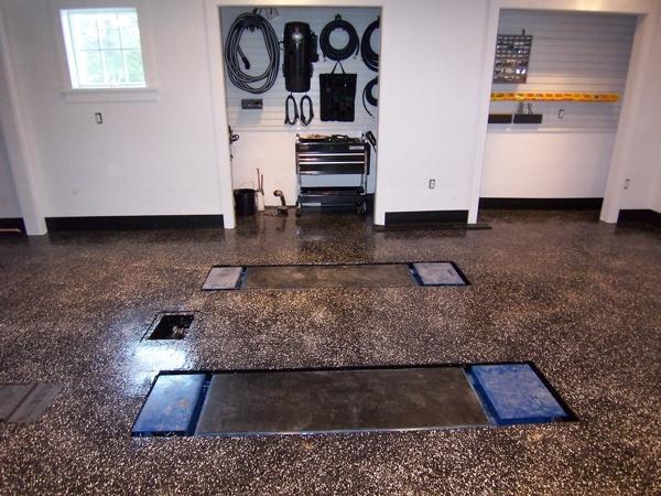 Garage Floor Garage Floor Lift