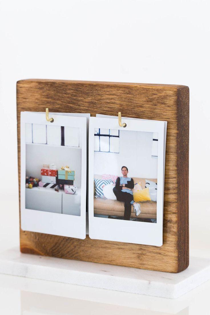 A DIY Flip Photo Album for your Desktop! | www.homeology.co.za