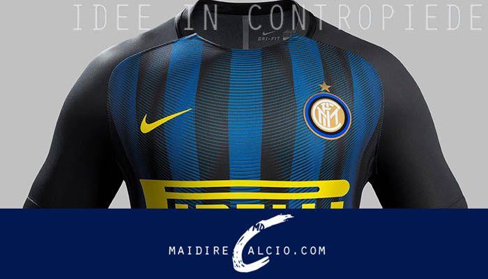 UFFICIALE: Inter, ecco la nuova maglia Nike 2016/17 - http://www.maidirecalcio.com/2016/07/06/inter-nuova-maglia-nike.html