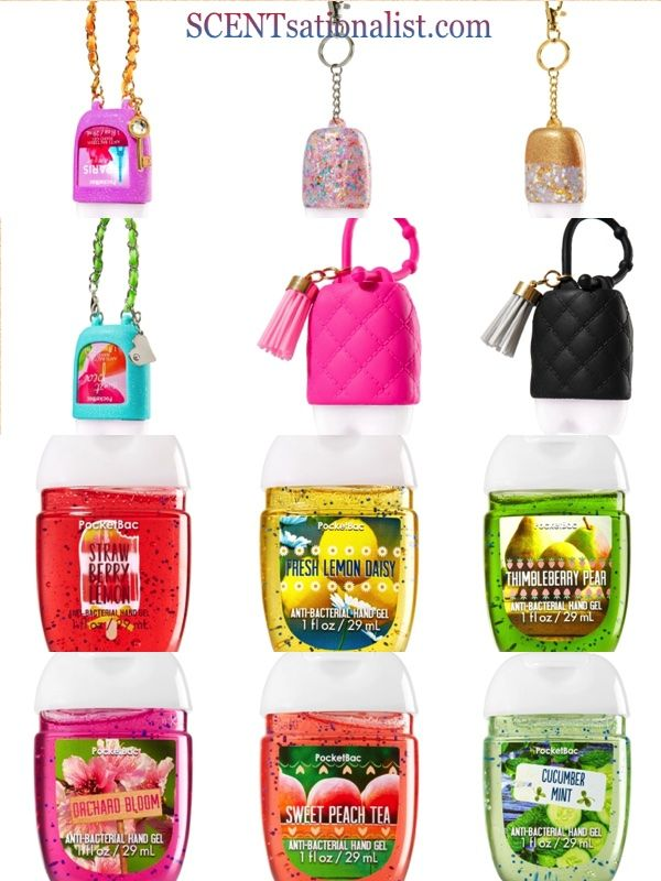 New Bath & Body Works PocketBacs and Holder for 2015