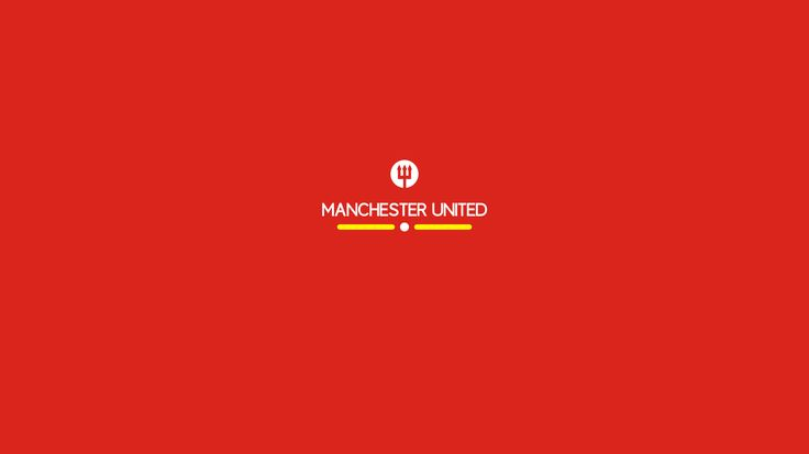 """Manchester United : simple """"Manchester United"""" wallpaper by Hamzah Zein"""
