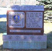 Purple Heart Memorial Westland Michigan - Purple Heart - Wikipedia, the free encyclopedia