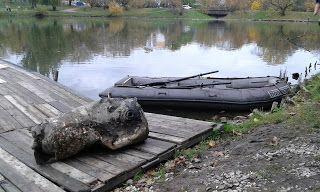 Grochów i okolice: Szczątki Liberatora w Jeziorku Kamionkowskim?
