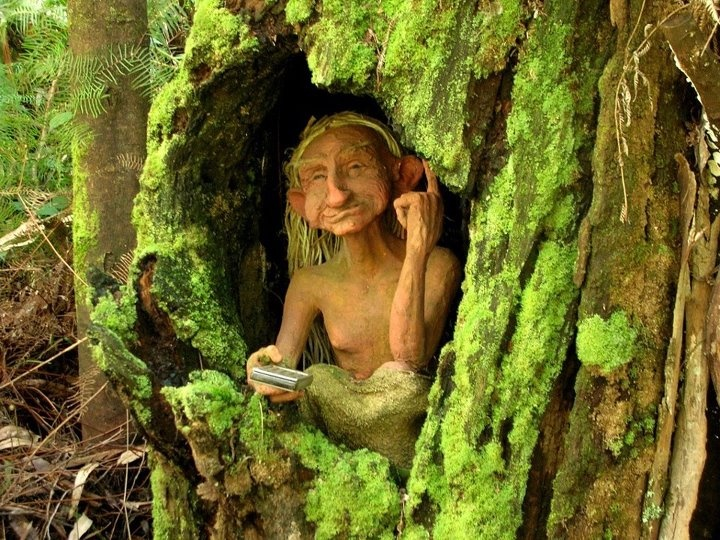 Old Moss Woman