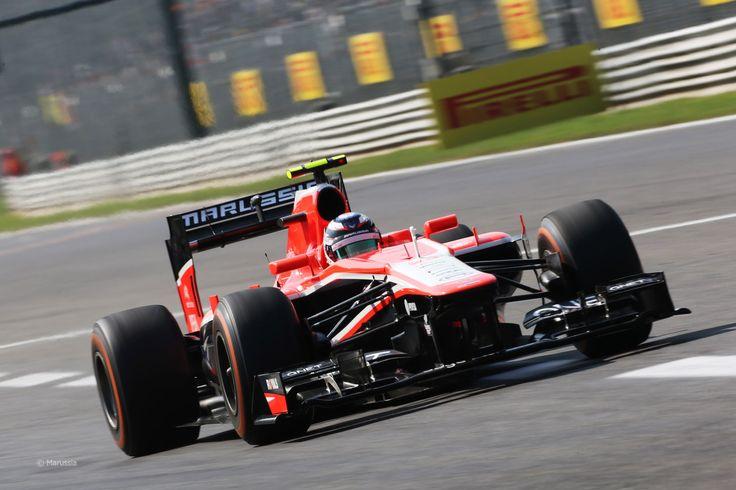 2013 GP Włoch (Monza) Marussia MR2 - Cosworth (Max Chilton)