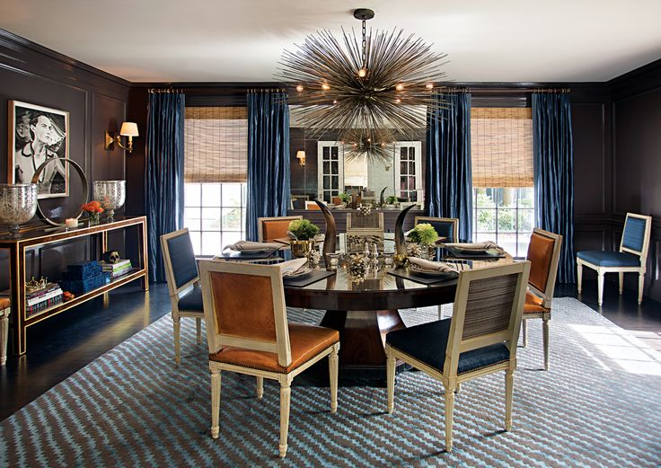 Chestnut Hill Dining Room by Kristin Paton Interiors