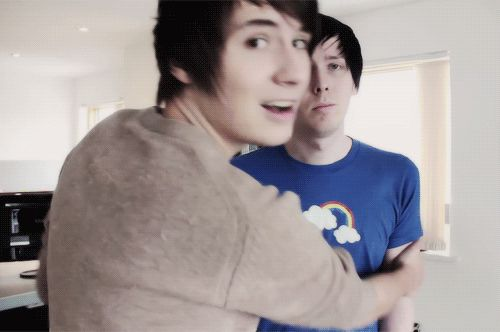 Imagine Dan stopping Phil from telling you that Dan likes you.