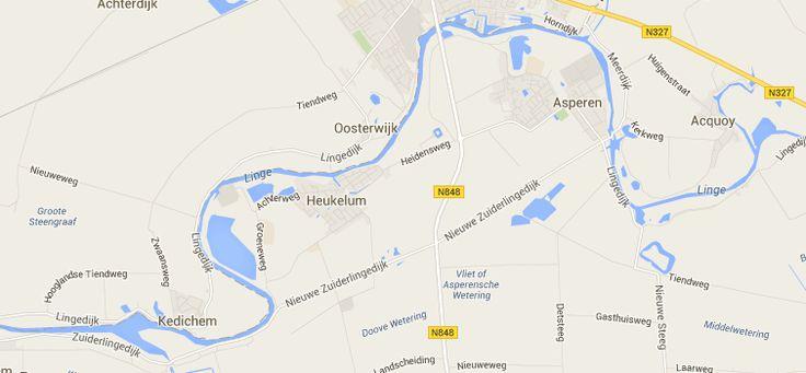 Lingetocht Asperen Heukelum 17,4 KM
