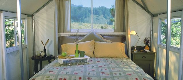 Cool campgrounds: Costanoa Lodge Tent Bungalows in Pescadero.Glamping, California Travel, Bays Area, Northern California, Camps, Roads Trips, California Coast, Costanoa Lodges, Tents Bungalows