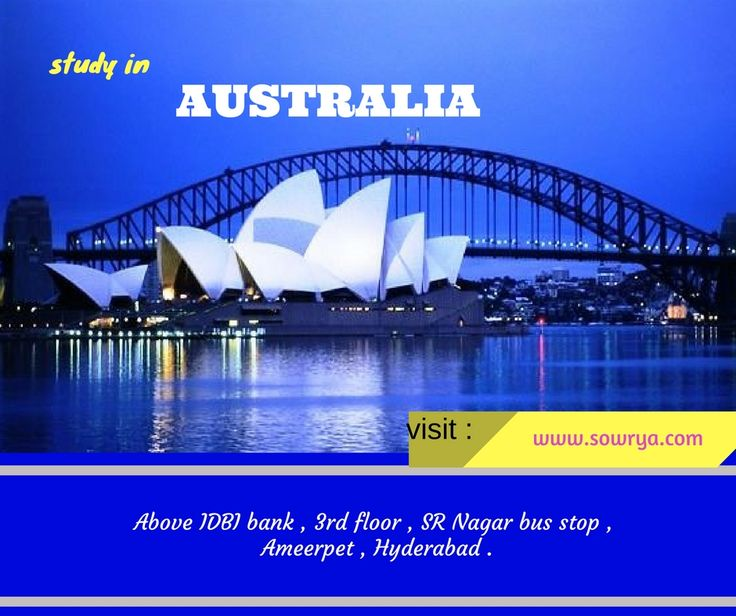 study in australia - australia education consultants contact sowrya consultncy