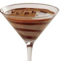 Receta de Chocolate Martini