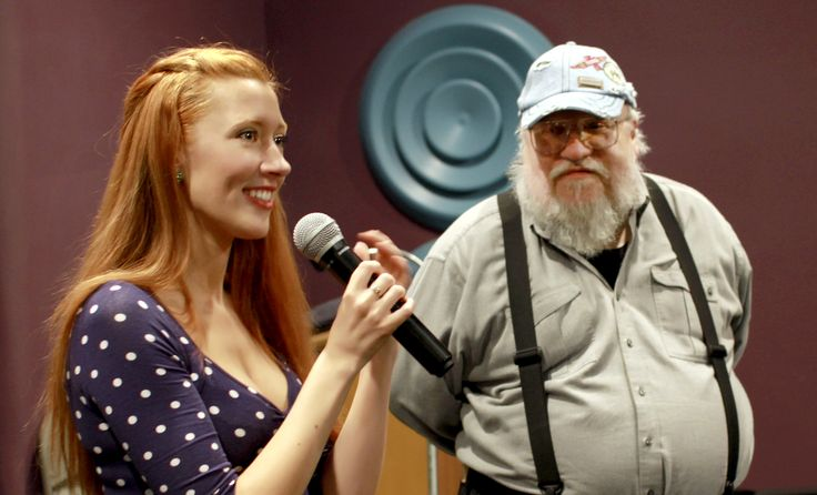 Amy-Joyce Hastings, George R. R. Martin Q&A Screening of The Callback Queen at Jean Cocteau Cinema, Santa Fe NM