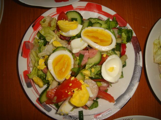 And salad it is :))