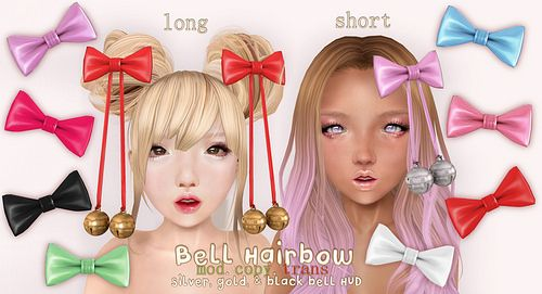 .tsg. Bell Hairbows~
