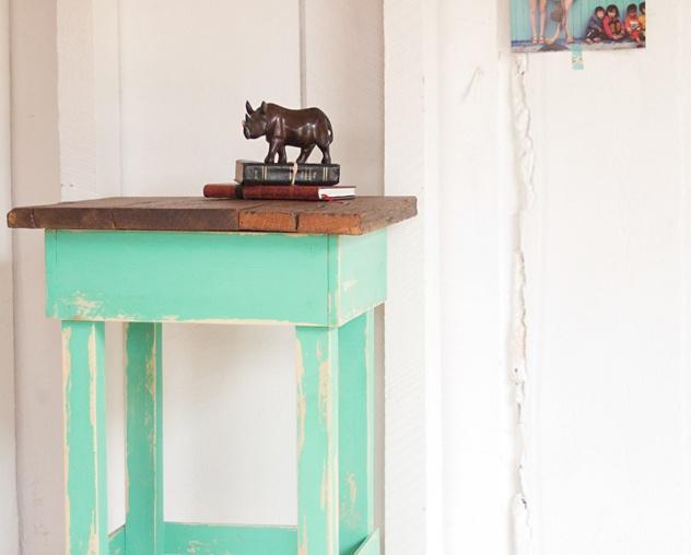 508made: minty side table by 508 Restoration & Design, via Flickr